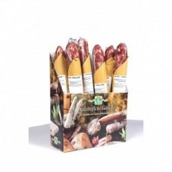 Salame 'Strolghino' confezione regalo da 10 pezzi sotto vuoto